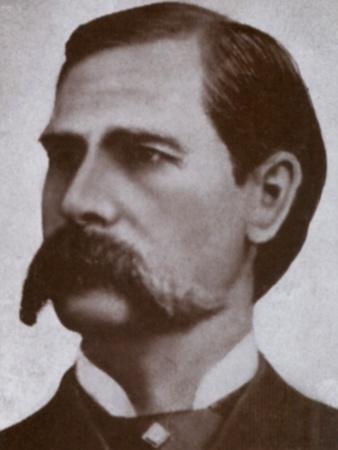 Wyatt Earp Legendary Western Hero, 1880s