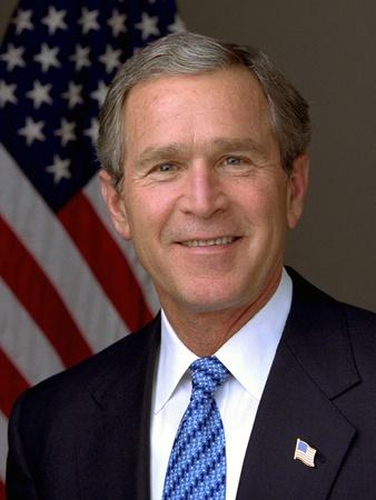 Official Photograph Portrait of US President George W. Bush. 2003