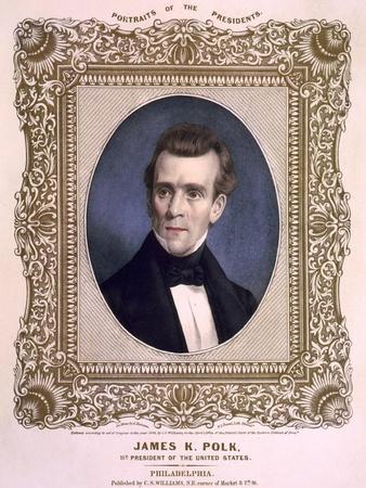 James Polk, President of the United States, Ca. 1846