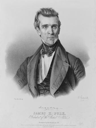 James Polk, President of the United States