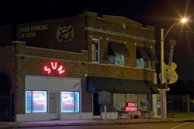 Sun Records Studio the Birthplace of Rock Roll in Oct. 2008