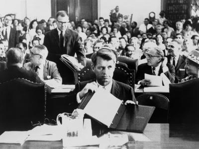 Atty, Gen. Robert Kennedy Testifying on the Civil Rights Bill in June 1963