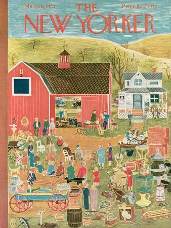 The New Yorker Cover - March 28, 1953