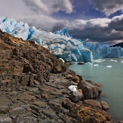Rock and Glacier