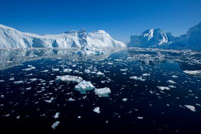 Open Waters in Disco Bay, Greenland