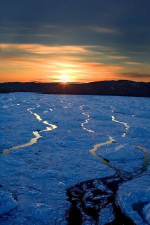 Bay Below Ilulissat Glacier