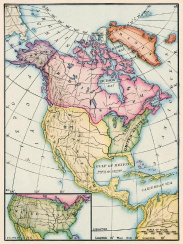 Treaty Of Paris Map 1783.North America At The Close Of The Revolution Treaty Of Paris 1783