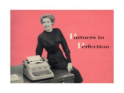 1940s UK Typewriters Magazine Advertisement (detail)