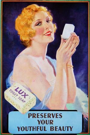 1910s UK Lux Magazine Advertisement