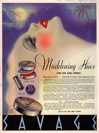 1930s USA Savage Magazine Advertisement