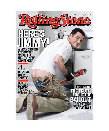 Here's Jimmy! Rolling Stone No. 1174, January 2013