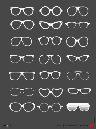 Glasses Poster II