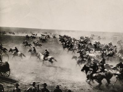 Riders Race Through the Cherokee Strip