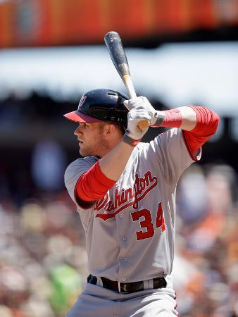 San Francisco, CA - May 22: Bryce Harper