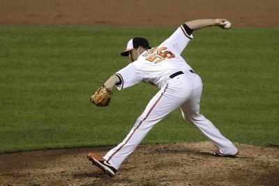 Baltimore, MD - June 27: Pitcher Darren O'Day