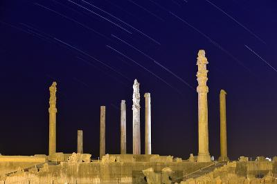 Star Trails Over 2500-year-old Apadana Palace, a World Heritage Site
