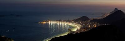 The City Lights of Rio, Seen From the Peak of Sugar Loaf Mountain
