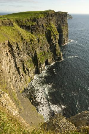 The Cliffs of Moher and the Atlantic Ocean