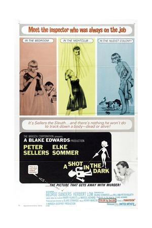 """The Pink Panther: a Shot In the Dark, 1964, """"A Shot In the Dark"""" Directed by Blake Edwards"""