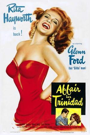 """Girl From Amen Valley, 1952, """"Affair In Trinidad"""" Directed by Vincent Sherman"""