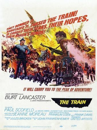 """John Frankenheimer's the Train, 1964, """"The Train"""" Directed by John Frankenheimer"""