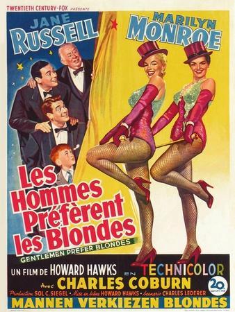 "Howard Hawks' Gentlemen Prefer Blondes, 1953, ""Gentlemen Prefer Blondes"" Directed by Howard Hawks"