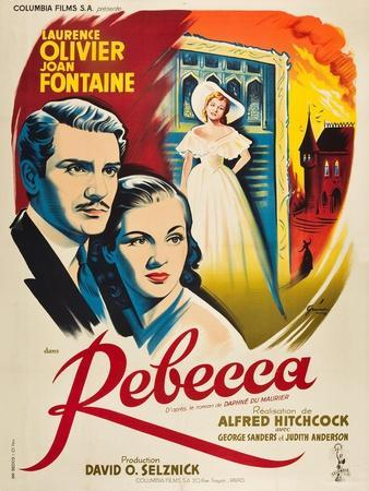 Rebecca, 1940, Directed by Alfred Hitchcock