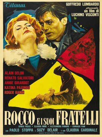 """Rocco And His Brothers, 1960 """"Rocco E I Suoi Fratelli"""" Directed by Luchino Visconti"""