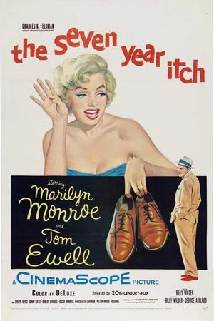 The Seven Year Itch, 1955, Directed by Billy Wilder