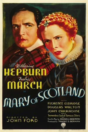 """Mary, Queen of Scotland, 1936, """"Mary of Scotland"""" Directed by John Ford"""