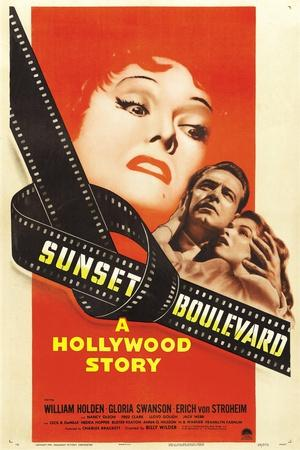 "Sunset Boulevard, 1950 ""Sunset Blvd."" Directed by Billy Wilder"