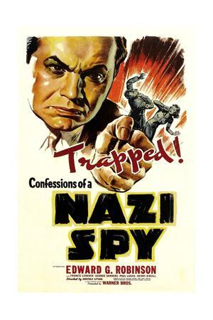 Confessions of a Nazi Spy, 1939, Directed by Anatole Litvak