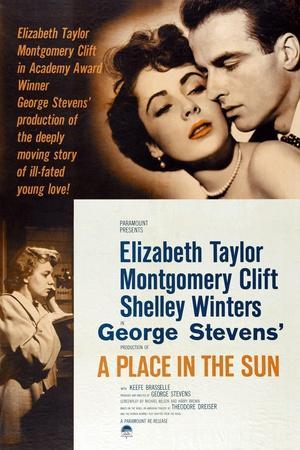 "The Lovers, 1951, ""A Place In the Sun"" Directed by George Stevens"