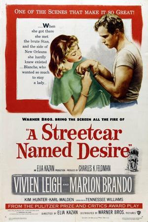A Streetcar Named Desire, 1951, Directed by Elia Kazan