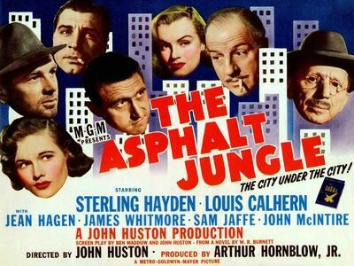 The Asphalt Jungle, 1950, Directed by John Huston