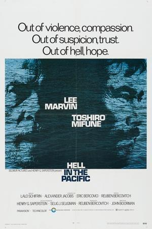 Hell In the Pacific, 1968, Directed by John Boorman