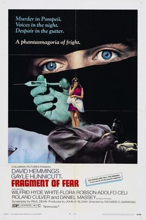 Fragment of Fear, 1970, Directed by Richard C. Sarafian