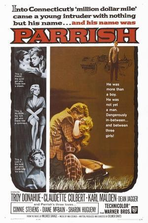 Parrish, 1961, Directed by Delmer Daves