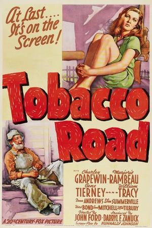 Tobacco Road, 1941, Directed by John Ford
