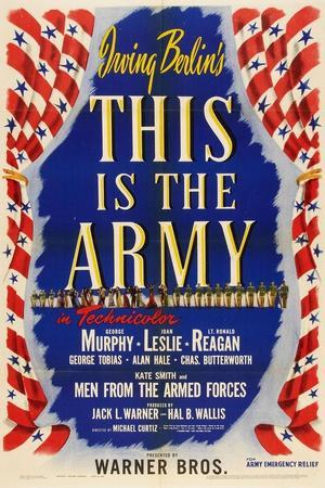 This Is the Army, 1943, Directed by Michael Curtiz