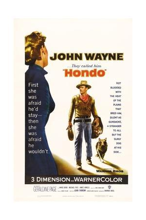 "They Called Him Hondo, 1953, ""Hondo"" Directed by John Farrow"