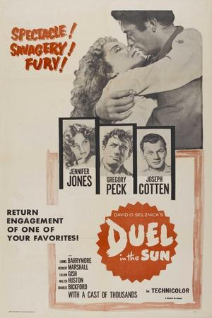 """Lust In the Dust, 1946, """"Duel In the Sun"""" Directed by King Vidor"""