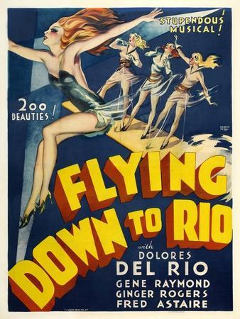 Flying Down To Rio, 1933, Directed by Thornton Freeland