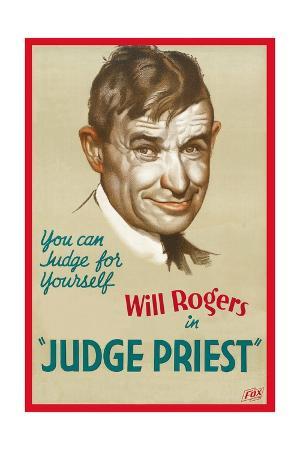 "Judas Priest, 1934, ""Judge Priest"" Directed by John Ford"