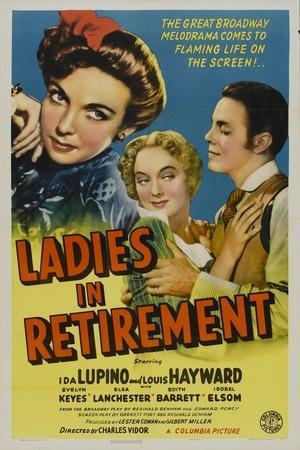 Ladies In Retirement, 1941, Directed by Charles Vidor
