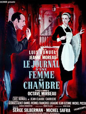 """Diary of a Chambermaid, 1964, """"Le Journal D'une Femme De Chambre"""" Directed by Luis Buñuel"""