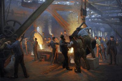 """The Iron Foundry"" Burmeister & Wain, 1885"