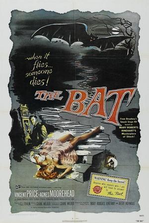 The Bat, 1959, Directed by Crane Wilbur