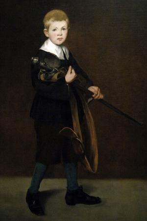 """Boy With a Sword"" 1861"