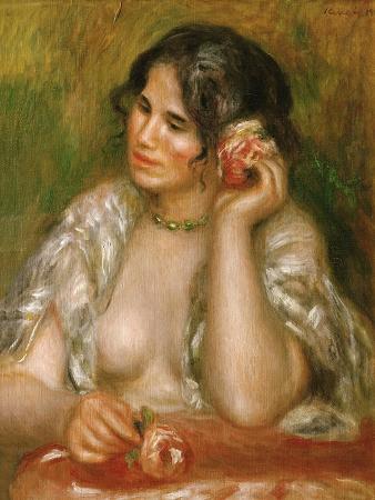 Gabrielle a La Rose, 1911